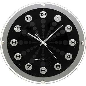 Seiko Qxr124k Radio Controlled Wall Clock Amazon Co Uk