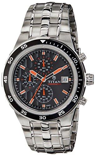 51arUF9EM7L - Titan 9466KM05J Octane Mens watch