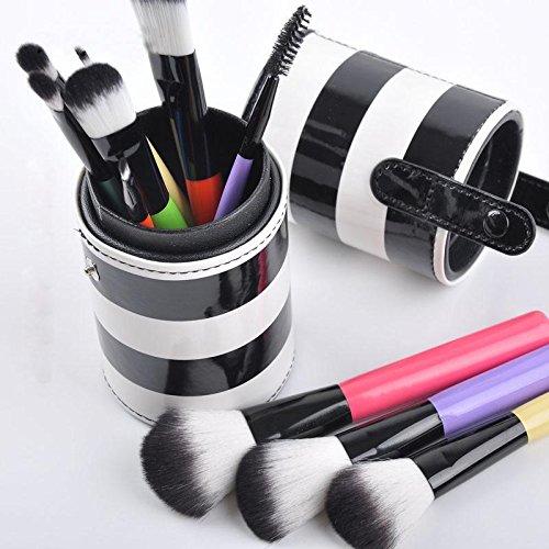 Make it Up XUAN Sept couleurs poignées 10 maquillage pinceau maquillage pinceau ensemble, couleurs romantiques