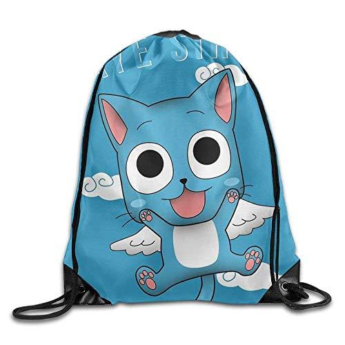 (KCOUU Kordelzug-Rucksack für Kinder und Erwachsene, wasserdicht, für Fitnessstudio, Reisen Einheitsgröße Fairy Tail)