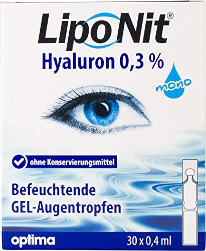 LipoNit GEL-Augentropfen MONO