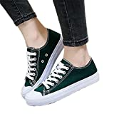 Canvas Shoes Woman 2018 New Summer Solid Color Hot Fashion White Casual Women Shoes sneakses Tenis Feminino Shoes Ladies Dark Green 6.5