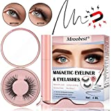 Magnetische Wimpern, Magnetic Eyeliner, Magnetische Wimpern Eyeliner, Wasserdichter, Langlebiger Eyeliner Mit Wiederverwendbare Falschen Wimpern Magnetischer Eyeliner