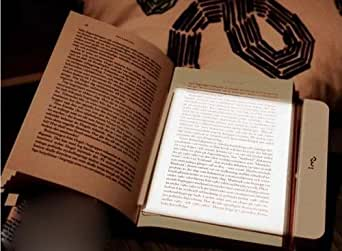 LED Flat Reading Light Close To Natural Light To Prevent Eye Bookmark