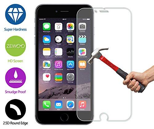 ZeWoo Display Glas Panzerfolie für Apple iPhone 6 Plus (5,5 Zoll) Glasfolie Hartglas Schutzfolie 9H *2.5D, nur 0,33mm dünn
