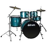 ddrum D2 Player Series Komplettes Schlagzeug Set mit Becken Blau glänzend