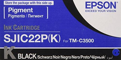 Epson SJIC22P Cartuccia d'Inchiostro Originale, Colore Nero