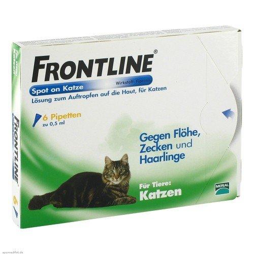 Frontline Spot on K Lösung für Katzen -