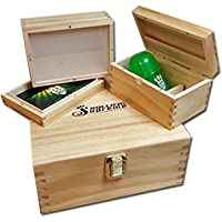 G4 Rolling Supreme Rolling Box - SMO-KING Edition - Solid Pine Inc Sifter Roll Box by Rolling Supreme