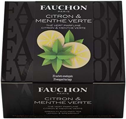 Fauchon - Thé Citron & Menthe Verte