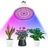 Outgeek Grow Light Bulb LED Full Spectrum Plant Light Bulb Grow Lamp Bulb