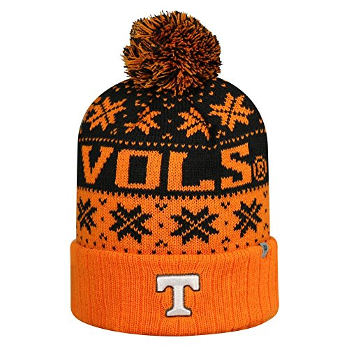 Top of the World Tennessee Freiwilligen bis Cuffed Pom Knit Beanie Hat/Cap