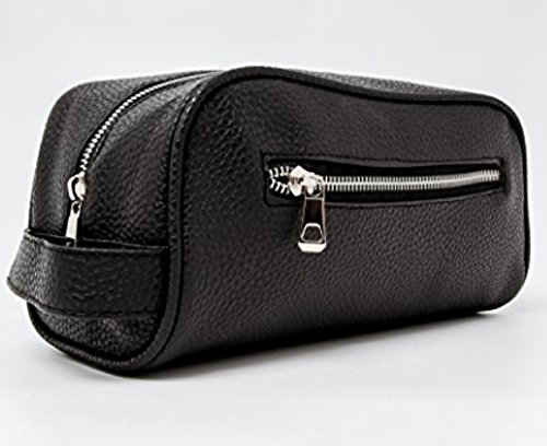 mens-black-toiletry-bag-from-bennys-of-london-the-best-mens-wash-bags-made-from-black-faux-leather-i