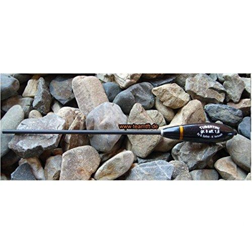 Tubertini Pro Suspende 2-5m Bombarde schwarz - Gewicht zum Forellenangeln, Sbirolino für Forelle, Sbirulino, Bombarden, Gewicht:10g / 2.0g Sinkgewicht