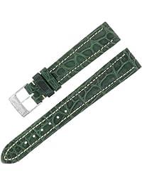 Breitling 903P 16–14mm Alligator en cuir vert Mesdames Bracelet Boucle w.