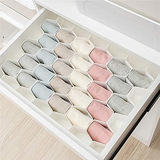 AEVEL Schubladen-Finishing-Box für Make-up-Klassifizierung, Separate Schublade, Schminktisch-Organizer, freie Kombination (Set von 5 Stück) Rose