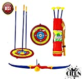 Shooting Archery Set by CIERN,with 3 Arrow Target Board Crossbow Toy for Kids