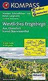 KOMPASS Wanderkarte Westliches Erzgebirge, Aue, Eibenstock, Kurort Oberwiesenthal: Wanderkarte mit Aktiv Guide, Radwegen, Reitwegen und Loipen. ... 1:50 000 (KOMPASS-Wanderkarten, Band 806)