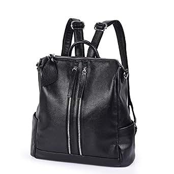 91e75db800234 Vbiger Damen Rucksack Leder Daypack Synthethisch Leder Rucksack  Schulrucksack Backpack