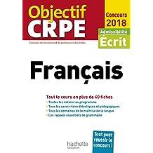Objectif CRPE En Fiches Français - 2018