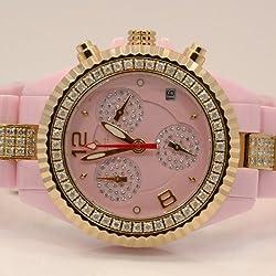 Aqua Master Ladies Ceramic Diamond Watch 3.00ctw W1154