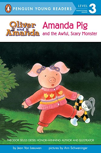 Amanda Pig and the Awful, Scary Monster (Puffin Easy-to-read, Level 2)
