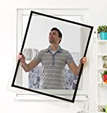 Culex Fensterfliegengitter Basic 100 x 120 cm, braun, 100010202-VH