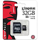 King-HighTech Carte Mémoire Micro SD SDHC 32 GO Classe 10 + Adaptateur pour Huawei P9 Lite