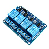 4-Channel Optic-Isolated Relay Module Low Trigger 3.3V/5V Arduino / Raspberry PI