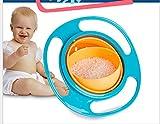 Zeuxs Gyro Bowl Children Bowl 360 degree Rotary Balance Bowl