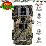 WIMIUS Hunting Trail Game Camera, Chasse Surveillance Full HD 1080p(30fps) 12MP 46pcs IR