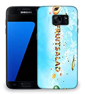 Snoogg Fruitsalad Designer Protective Phone Back Case Cover For Samsung Galaxy S7