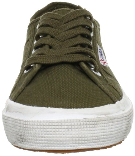 Superga 2750 COTUSTONEWASH, Sneaker Unisex - Adulto Military Green
