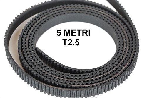 5mètres États-Unis linéaires Sangle 3d printer T2.5–6mm.Belt Open ouverte Timing Mendel Prusa Flashforge