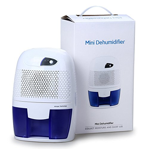 Oxygentle Mini Deshumidificador de Aire Partátil kun 500ml akvo tanko (250ml /...