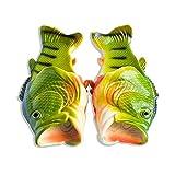 Coddies Klassische Fisch-Flops | Strandschuhe, Flip Flops, Freizeitschuhe, Hausschuhe, Duschschuhe und Sandalen für Männer, Frauen und Kinder (34/35 EU Grün)