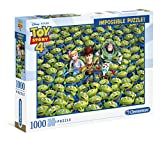 Clementoni- Impossible Puzzle-Toy Story 4-1000 Pezzi, Multicolore, 39499