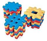 Little Tikes Big Waffle Blocks Giochi di construcciónjuegos di construcciónlittle tikesgrandes Blocchi di Costruzione, Colore Blu, Rosso, Giallo (619137m)