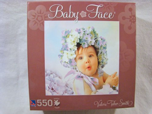Valerie Tabor Smith 550 Piece Jigsaw Puzzle: Baby Face Brown Box