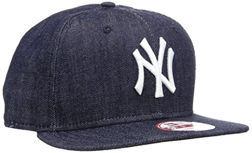 New Era Cap Denim Basic 9Fifty Neyyan, Navy/White, S/M, 11066060