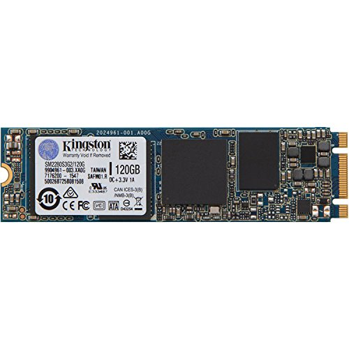 Kingston SSDNow M.2 SATA G2 Drive 120GB Interne Festplatte (Sata-150 Notebook)