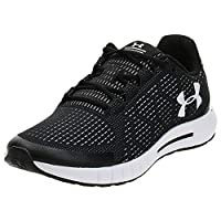 Under Armour Micro G Pursuit SE Men's Running Shoes, Black (Black/White/White 003), 7.5 UK (43 EU)