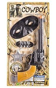 JUINSA Pistola Vaquero con Antifaz 95381.0