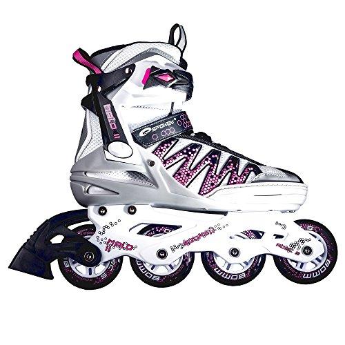 SPOKEY® HALO II Inline Skates | Kinder | Damen | Herren | Inline Blades | ABEC5 Karbon | Aluminiumschiene | Größen 37-46