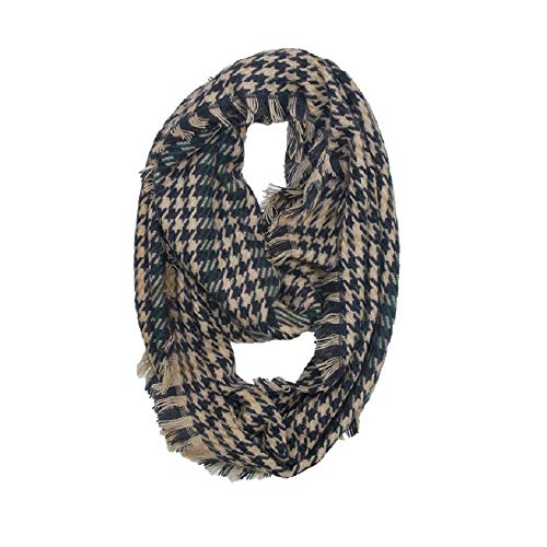 Jiurui scialle e silenziatore coperta scozzese da donna sciarpa invernale sciarpa in cachemire sciarpe calde. tartan wrap classic scialle cape (color : brass, size : 33-1/2 x 17-3/4 inch)