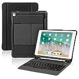 WWSZ iPad 9.7 2018 iPad Pro 9.7 Keyboard Case mit Stifthalter Wireless Bluetooth-Tastatur mit Stoßfester Hochleistungs-Rückabdeckung Füripad Pro 9.7/iPad 9.7 2018/2017/iPad Air/Air 2
