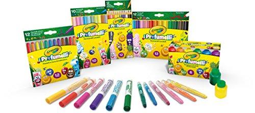 Crayola - i profumelli set convenienza, per disegnare con colori profumati,, 7455