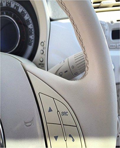 Colourcare24 Kit ritocco usura vernice Volante in Pelle eco-pelle similpelle ripristina colore sterzo tonalit/à Grigio scuro Agata opaco satinato