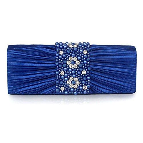 SSMK Evening Bag, Poschette giorno donna Blue