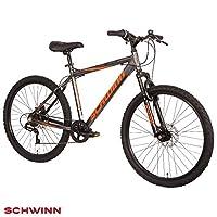 "Schwinn Surge 26"" Mountain Bike - Graphite, Orange & Black, 17"" Aluminium frame with Disc Brakes"